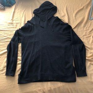 Men's H&M wool hoodie sweater